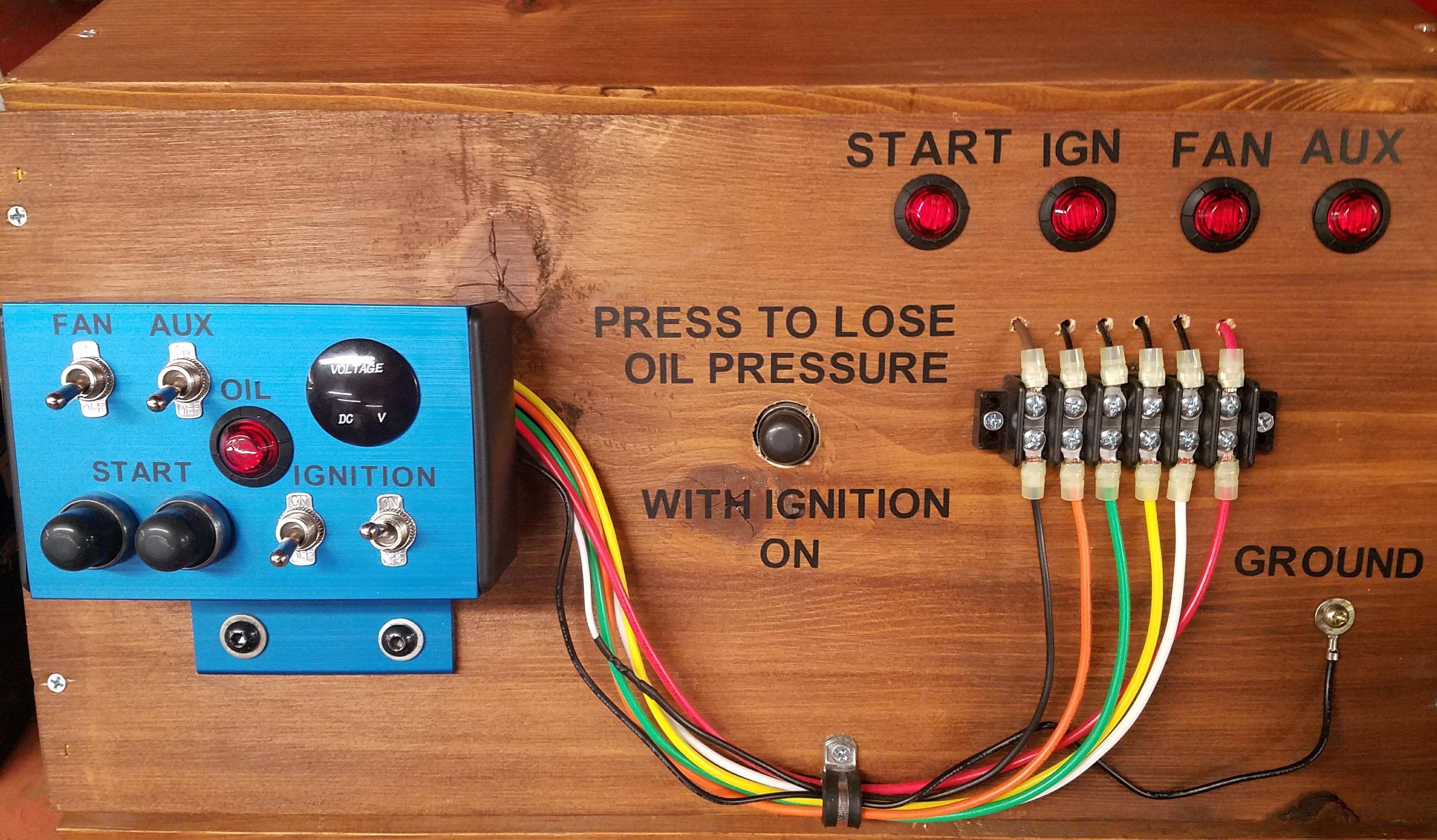 Switch Box Voltage Gauge Aluminum How To Wire A